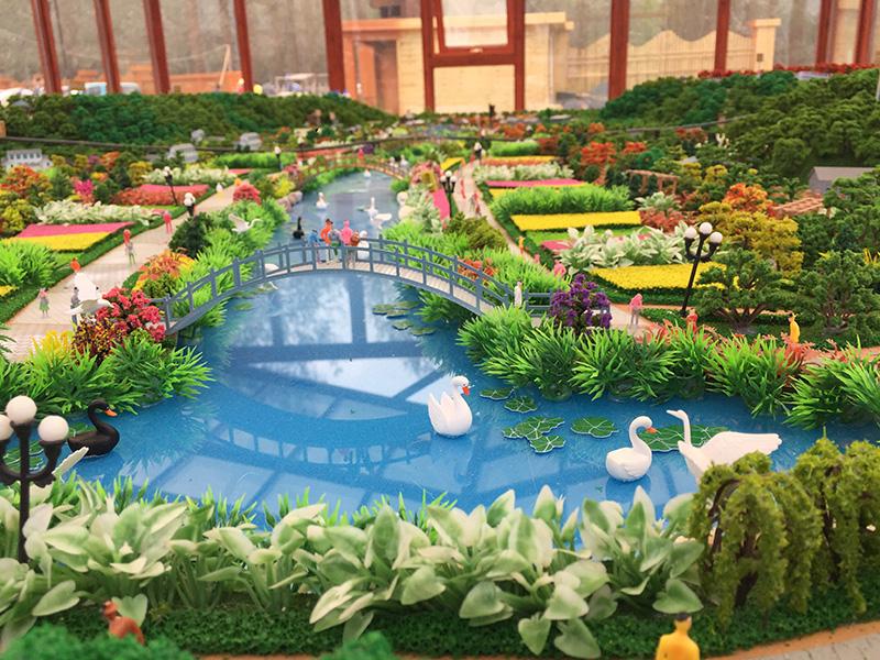 景观沙盘模型02-西安旭景模型设计有限公司图片